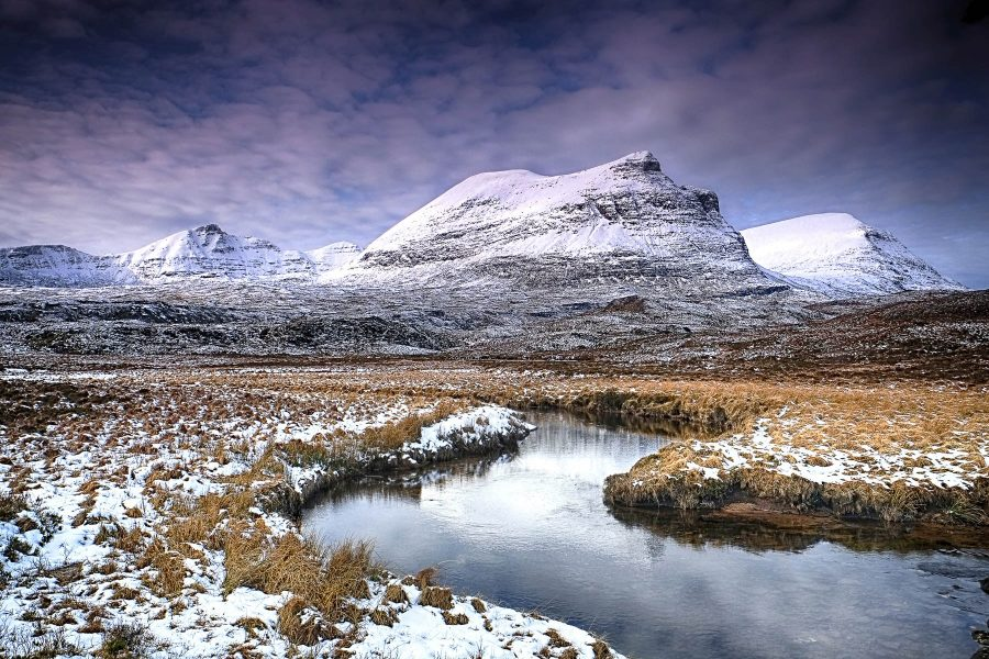 Assynt mountains by Chris Puddephatt