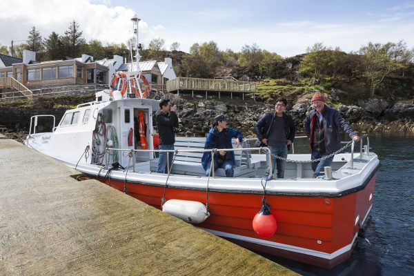 Family friendly boat trips on Kylesku Hotel's boat - Rachael Clare.