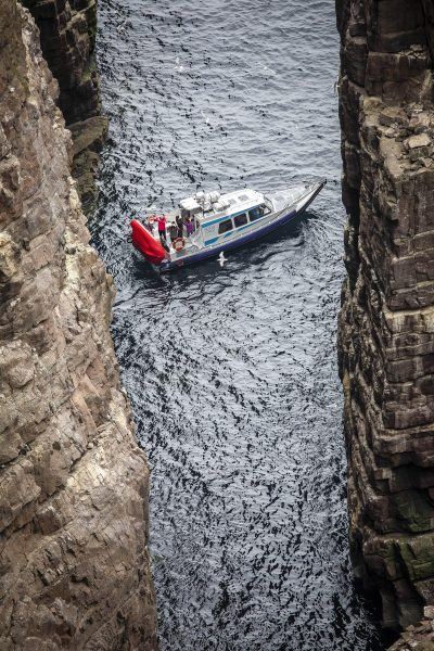 North Coast sea tours, Scotland. Boat trips from Kylesku