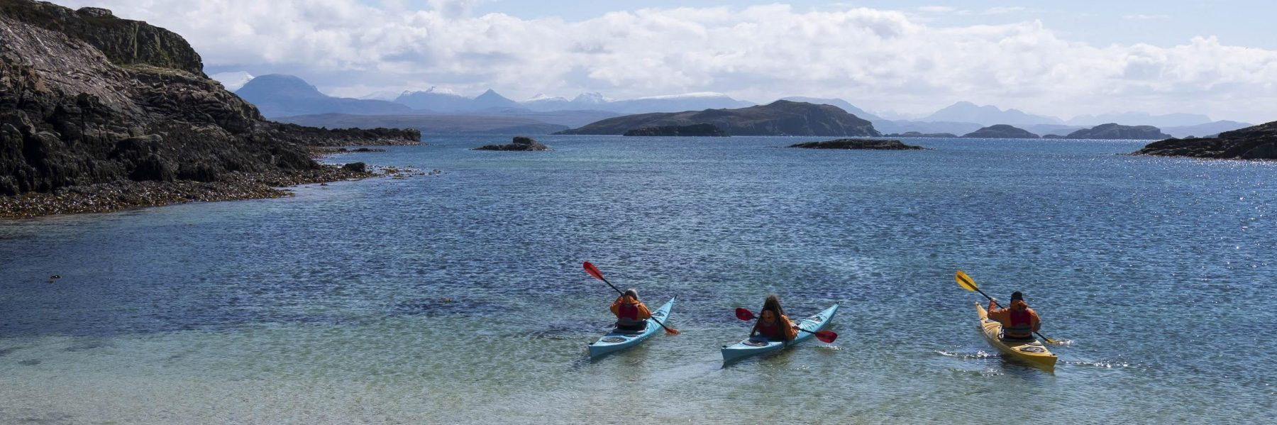 Sea Kayaking with Hamlet Mountaineering, North West Scotland