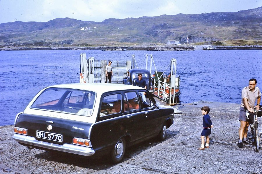 Kylesku Ferry in 1966