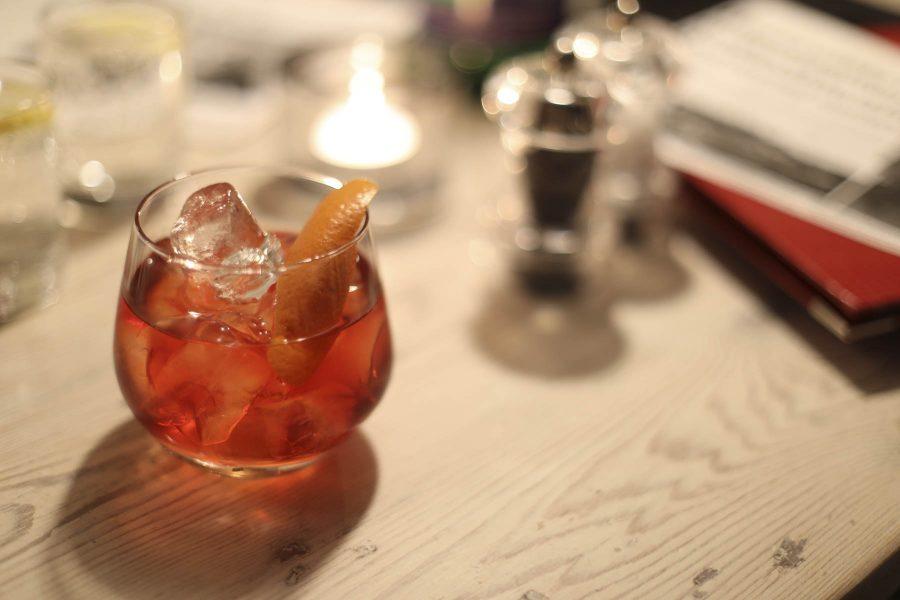 Negroni at Kylesku Hotel