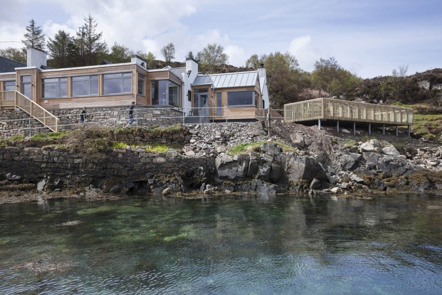 Kylesku Hotel Helen Lucas Architects 4 Y7 Z5872 Photograph by Angus Bremner
