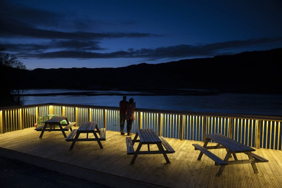 Kylesku Hotel Helen Lucas Architects 4 Y7 Z3575 Photograph by Angus Bremner