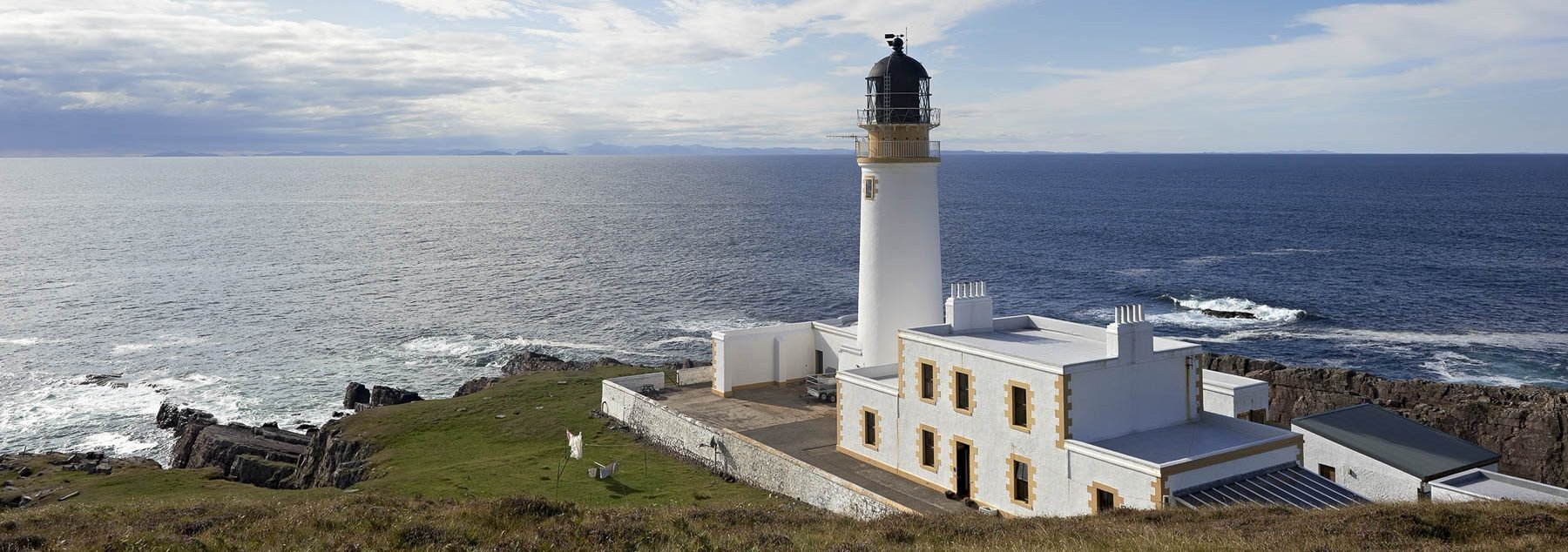 Stoer Lighthouse, Assynt, by François Bertin