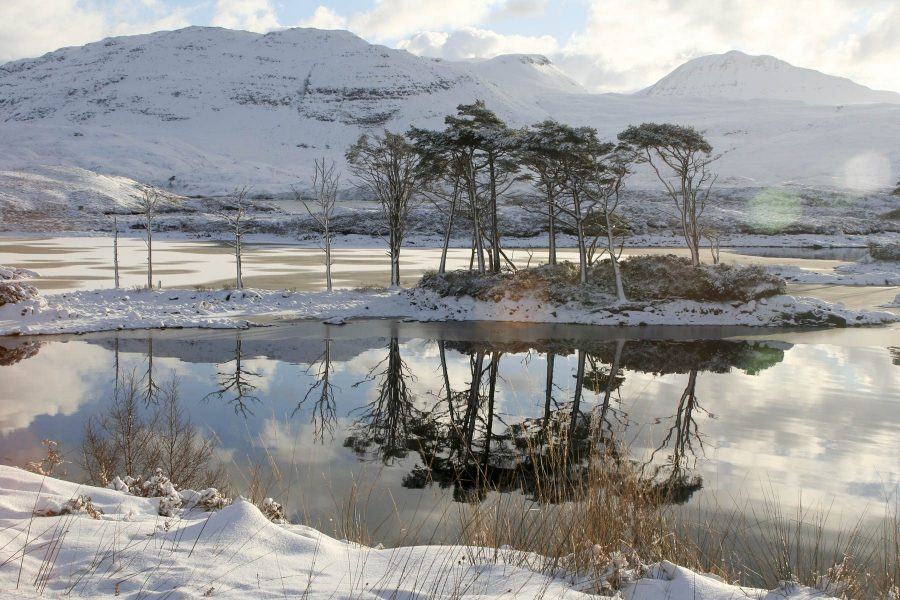 Loch Assynt in Winter