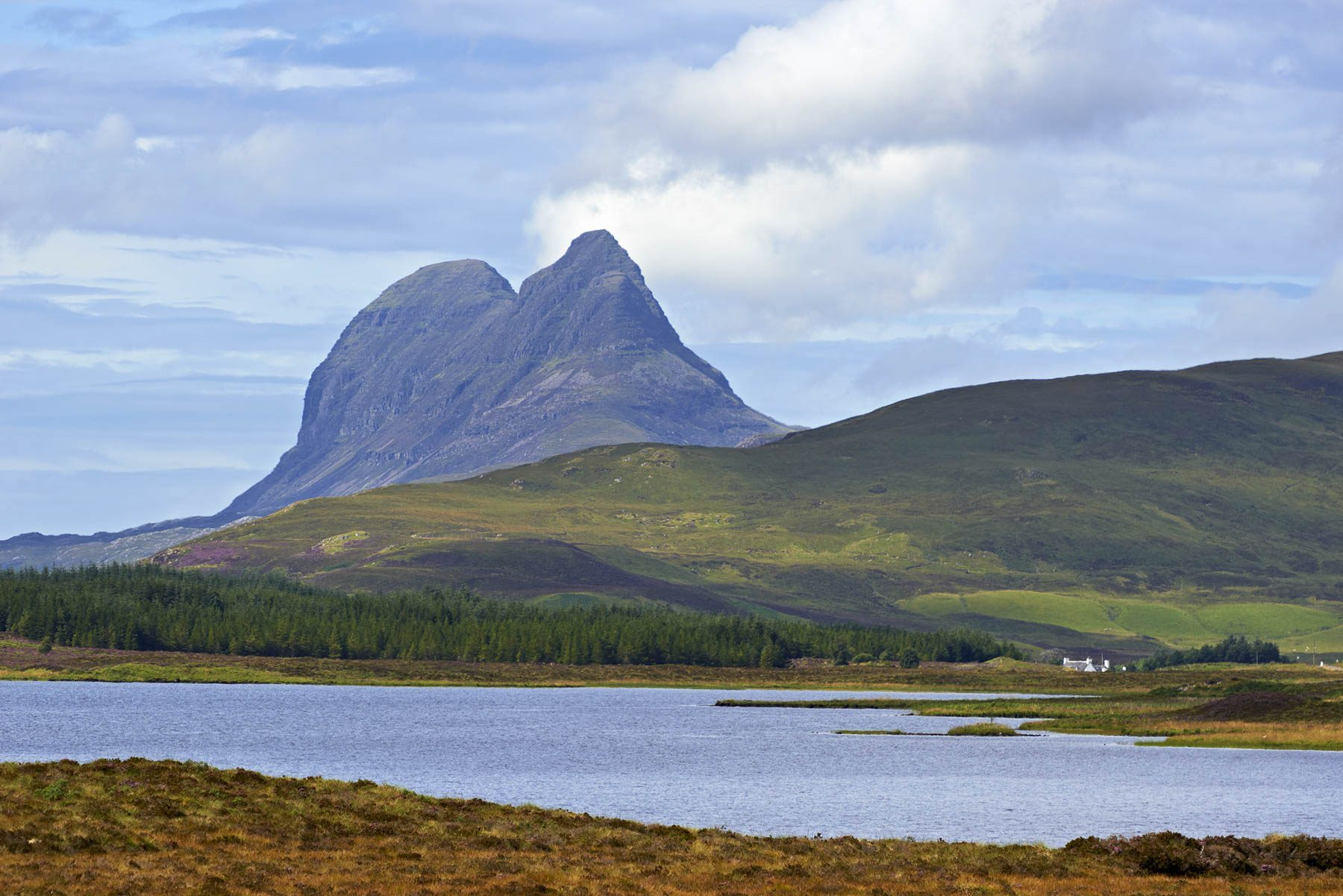Suilven, photography by François Bertin